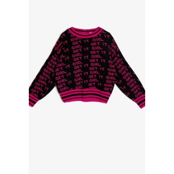 Pink Children Sweater 0KKG97431HT
