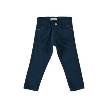 Navy Blue Boy Trousers 200629011Y91