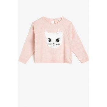 Pink Children Sweater 0KKG97356HT