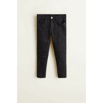 Black denim girls trousers 33073717