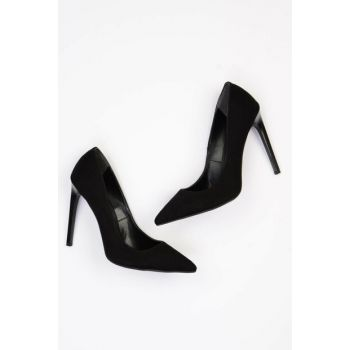Black Women's High Heels Shoes G0509009072