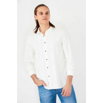 Men's White Shirt 021259-25705