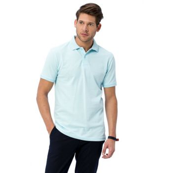 Men's Blue Polo Neck T-Shirt 8S0911Z8