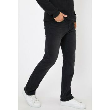 Men's Black Mark Jean Trousers 0KAM43152YD