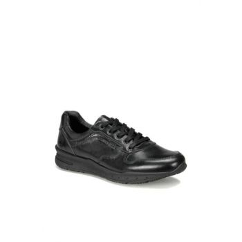 Genuine Leather Black Men's Shoes ANTON 9PR
