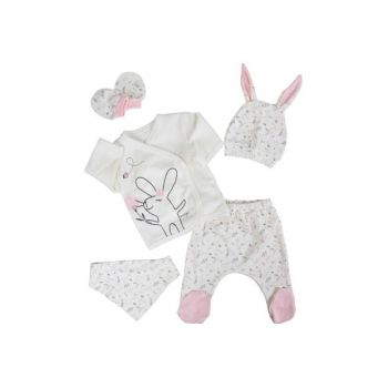 White Baby Girl Rabbit With 5L Hospital Exit AF90241