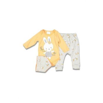 Fun Gime Rabbit Baby Girl Set of 3 AF9025T