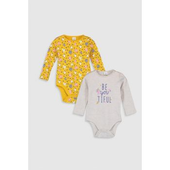 Baby Girl Snap on Body 2sets 9WI249Z1