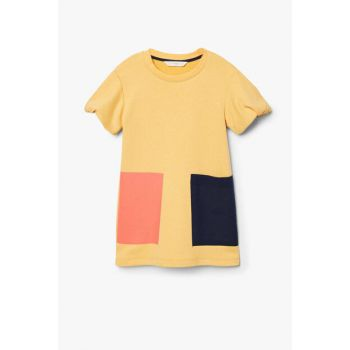 Mustard Color Girls' Dress 33070922