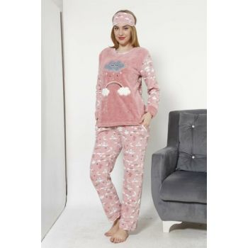Women's Mink Wellsoft Pajamas Set 8036