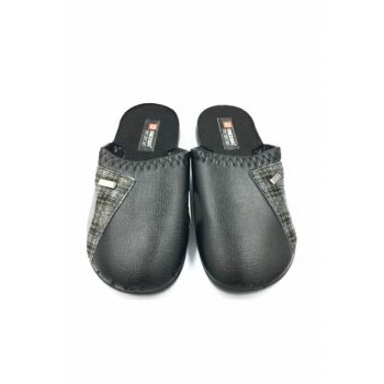 BLACK Men's Slippers GZR10500