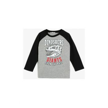 Gray Children's T-Shirt 0KKB16978OK