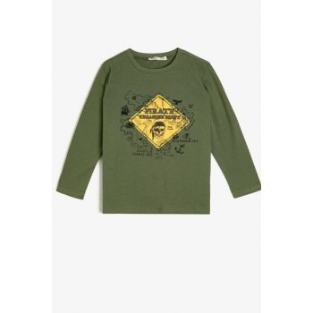 Green Children's T-Shirt 0KKB16399OK