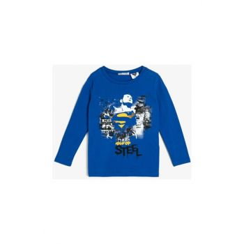 Blue Children's T-Shirt 0KKB16534TK