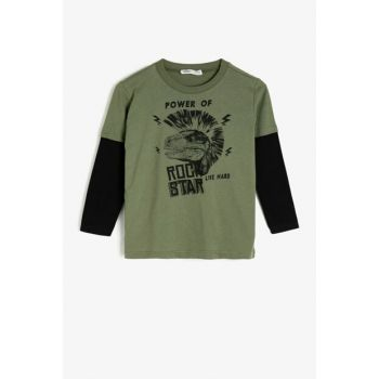 Green Children's T-Shirt 0KKB16220OK