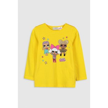 Girls' Yellow Fvt T-shirt 9WS309Z4