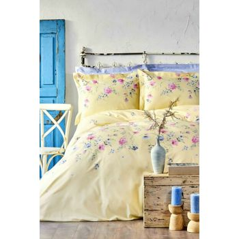 Lupines Yellow Rnf Single Bed Linens With Box 200.15.01.0037