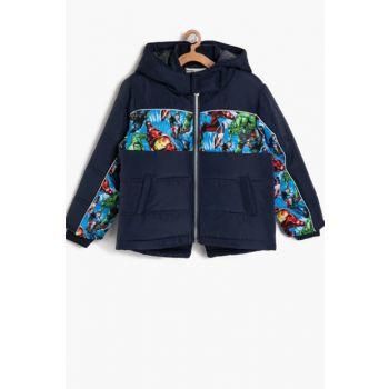 Blue Boy Patterned Coats 8KKB26518OW