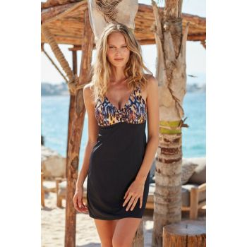 Strap Chest Knotted Dress Swimwear 191109