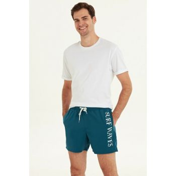 Men's Dark Oil Sea Shorts 9SB208Z8