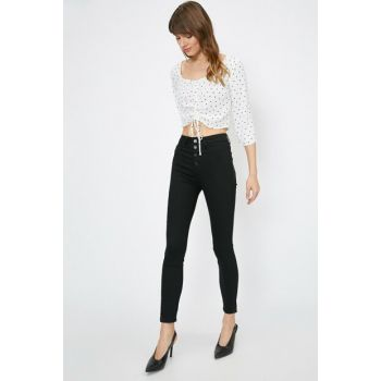 Women Black Trousers 0YAK47336DD