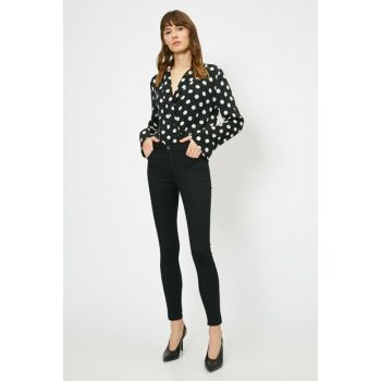 Women Black Trousers 0YAK43556MW