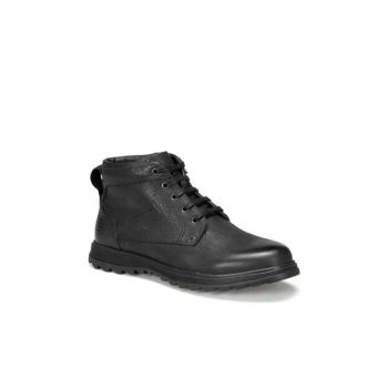 Genuine Leather Black Men Boots 227146 9PR