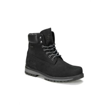 Genuine Leather Black Men Boots 225390 9PR