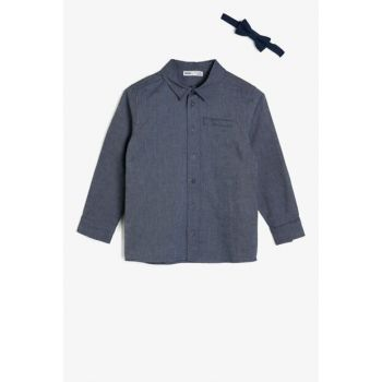 Blue Children's Shirt 0KKB66561GW
