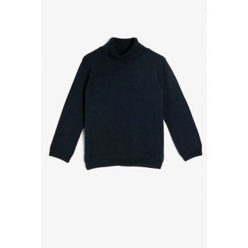 Navy Blue Children Sweater 0KKB96848OT