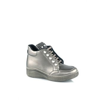 955.18K.429 Silver Girls Boots