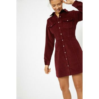 Women's Burgundy Dress 0KAL88232OW