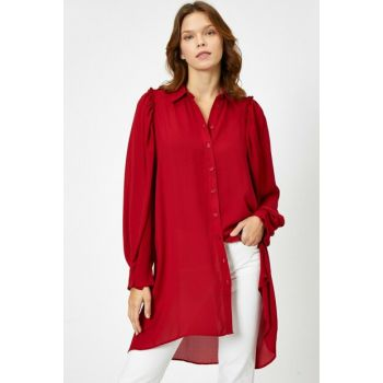 Women's Burgundy Tunic 0KAF60420FW