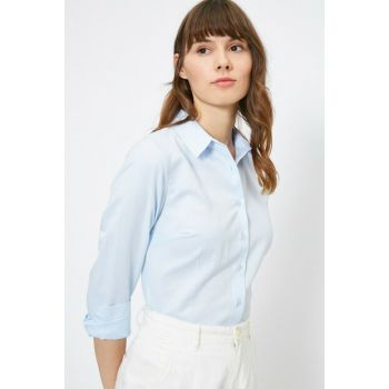 Women's Blue Shirt 0YAK68040PW