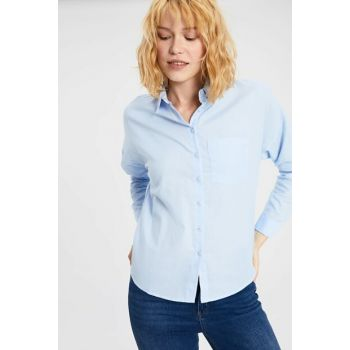 Women's Light Blue Shirt 9WN354Z8