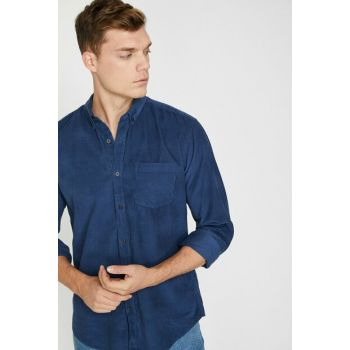 Men's Navy Blue Shirt 0KAM61017BW
