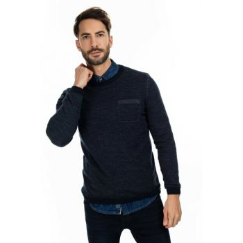 Men's London Sweater Navy Blue 112090027100200