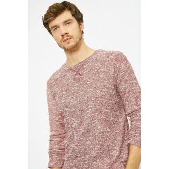Men's Burgundy Sweater 0KAM91000OK