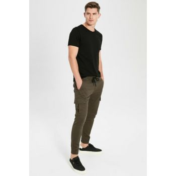 Men's Khaki Pants 9WS437Z8