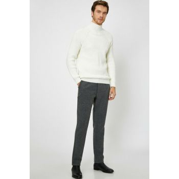 Men's Gray Trousers 0KAM41081BW