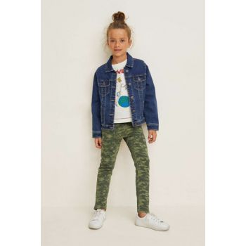 Khaki Girls Trousers 33083722