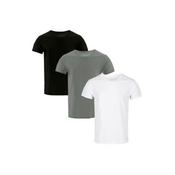 Men's Black - White - Gray T-Shirt 3 Pack M4065-900