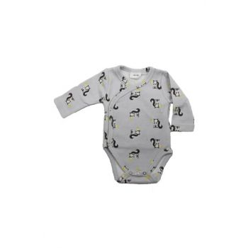 Squirrel Pattern Double Breasted Premature Baby Body UYGBB00358