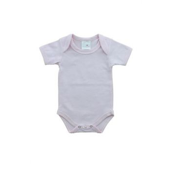 Cloud Patterned Short Sleeve Baby Snaps Body UYGBB00334