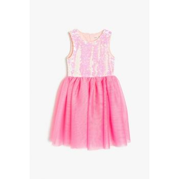 Pink Girls' Dress 9YKG87866AK