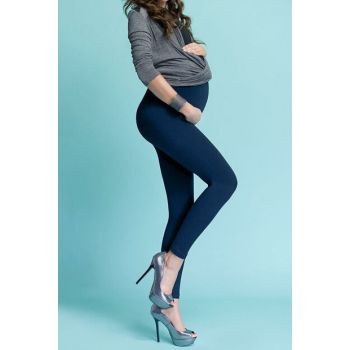 Maternity Navy Blue Leggings MYRA8001