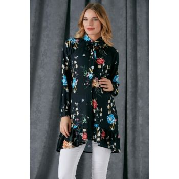 Maternity Floral Patterned Tunic 8456
