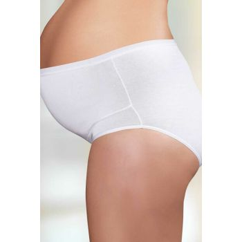 Women's White Pregnant Panties Mb142-By MB142-BY