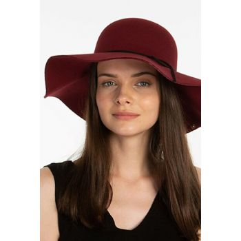 Women's Maroon Wide Brim Hat 5504912