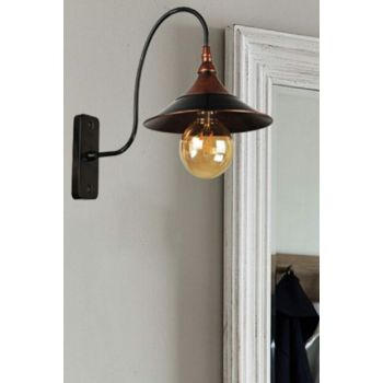 Modernika Sconce Case Black Copper Patina 621 0202 41 099